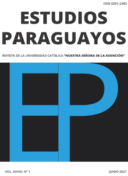 Ver Vol. 39 Núm. 1 (2021): Revista Estudios Paraguayos